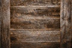 Старая и античная деревянная предпосылка Grunge доски планки Стоковые Фотографии RF