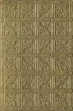 Старая и богато украшенная обложка книги золота Стоковое Фото
