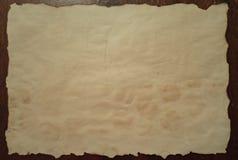 Старая и пакостная бумага Стоковое Фото