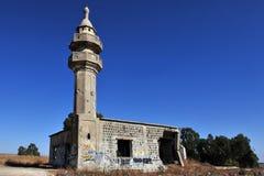 Старая и разрушенная сирийская мусульманская мечеть Стоковое Изображение