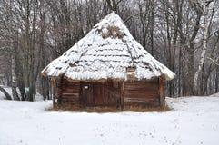 Старая кабина, дом Стоковые Фото