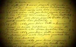 Старая каллиграфия стоковое фото