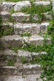 Старая каменная лестница стоковые фото