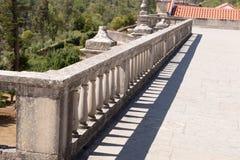 Старая каменная загородка штендера Стоковые Фото