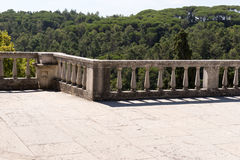 Старая каменная загородка штендера Стоковое Изображение RF