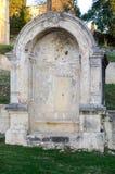 Старая каменная ниша Стоковые Фотографии RF