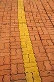Старая каменная дорожка блока Стоковая Фотография RF