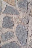 Старая каменная стена Грубые камни различных форм камень предпосылки детальный реальный очень Стоковое Изображение