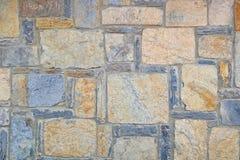 Старая каменная стена Грубые камни различных форм камень предпосылки детальный реальный очень Стоковые Фото