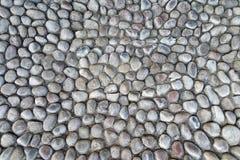 Старая каменная стена Грубые камни различных форм камень предпосылки детальный реальный очень Стоковые Фотографии RF