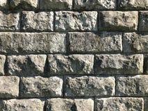 Старая каменная стена Деревенская текстура и предпосылка Стоковая Фотография