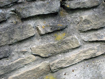Старая каменная стена Часть masonry Стоковое фото RF