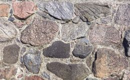 Старая каменная стена Стоковое Изображение RF
