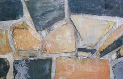 Старая каменная стена Стоковые Фото