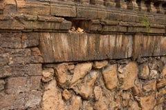 Старая каменная стена Стоковая Фотография RF