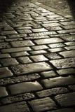 старая каменная улица Стоковая Фотография RF