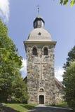 Старая каменная церковь Стоковое Изображение RF