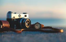 Старая камера год сбора винограда Стоковая Фотография RF