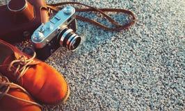 Старая камера год сбора винограда Стоковое Фото