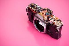 Старая камера фильма стоковые фотографии rf