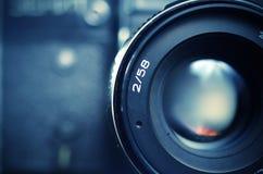 Старая камера фильма Стоковые Фото
