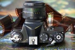 Старая камера фильма Стоковые Изображения