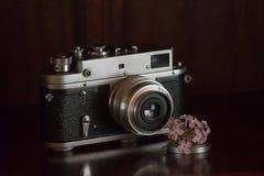 Старая камера фильма Стоковые Изображения RF
