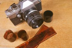 Старая камера фото стоковое фото rf