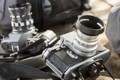 Старая камера Стоковые Фотографии RF