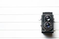Старая камера Стоковая Фотография
