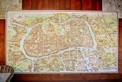 Старая карта Стоковое Фото
