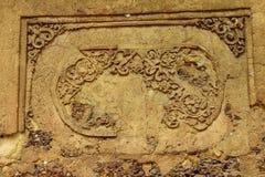 Старая картина на стене Стоковое Изображение
