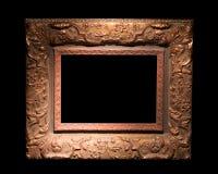 Старая картинная рамка стоковая фотография