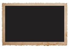 Старая карточка фото. винтажная предпосылка Стоковое Изображение