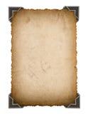 Старая карточка фото с углом ретро рамка фото стиля Стоковая Фотография