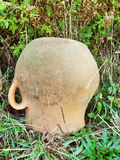 Старая кастрюлька гончарни бдительности Стоковое Изображение RF