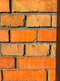 Старая кирпичная кладка как предпосылка, текстура, место для текста Стоковая Фотография