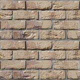 Старая кирпичная стена - безшовная предпосылка - деревенское возникновение Стоковое фото RF