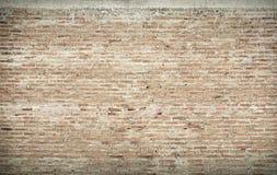 Старая кирпичная стена в фоновом изображении Стоковые Изображения