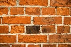 Старая кирпичная стена дома Стоковая Фотография RF