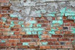 Старая кирпичная стена Стоковое Изображение