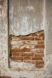 Старая кирпичная стена Стоковые Фото