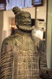 Старая китайская армия терракоты Стоковое Изображение