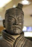 Старая китайская армия терракоты Стоковая Фотография