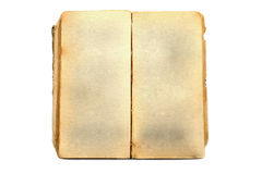 Старая книга открытая Стоковое Изображение RF