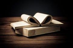 Старая книга открытая Стоковые Изображения