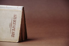 Старая книга Шекспир Стоковое фото RF