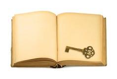 старая книги ключевая Стоковое Фото