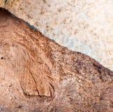 Старая кожаная предпосылка Стоковые Фотографии RF