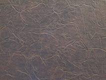 Старая кожаная текстура Стоковое Фото